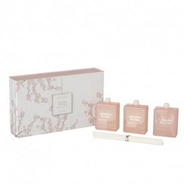 Boite 3 Huiles Parfumées Sakura Blush Rose Clair