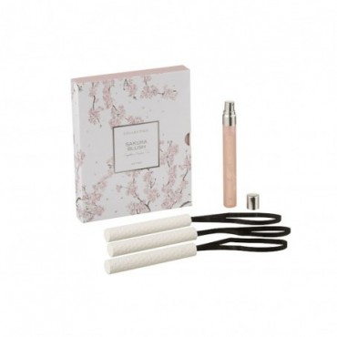 Boite 3 Suspension Parfumée Sakura Blush Rose Clair