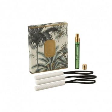 Boite 3 Suspension Parfumée Tropical Jungle Vert