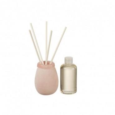 Huile Parfumée + Batonnets Capri 200Ml Rose Clair