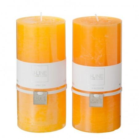 Bougie Parfumee Orange Mix grande Assortiment De 2