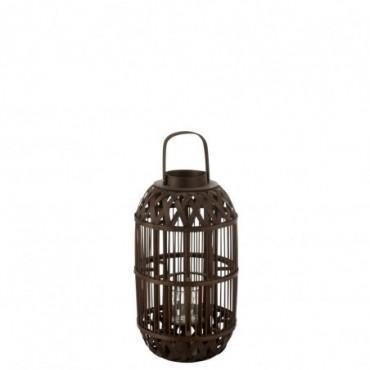Lanterne Aeolus Bambou Noir S