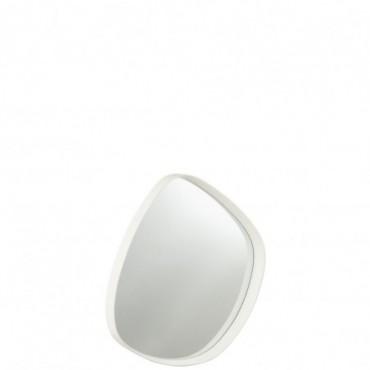 Miroir Giles bois-Verre Blanc S