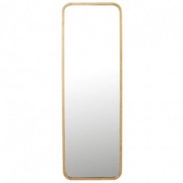 Miroir Mona rectangulaire Métal-Verre Or