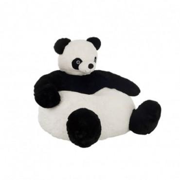 Sofa Panda Peluche Noir/Blanc