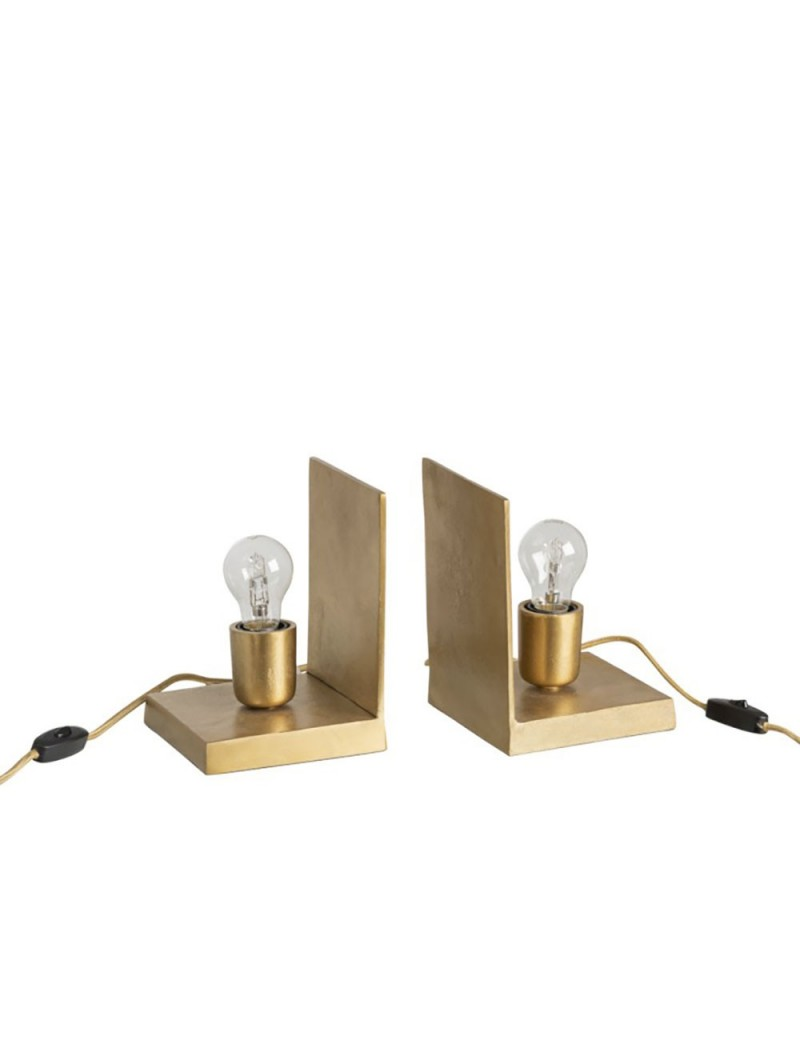 Lampes Serre-Livres Aluminium Or