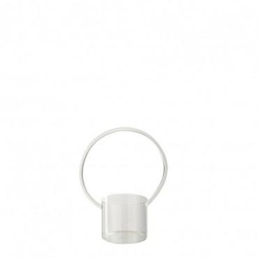 Vase + Anse Verre Transparent