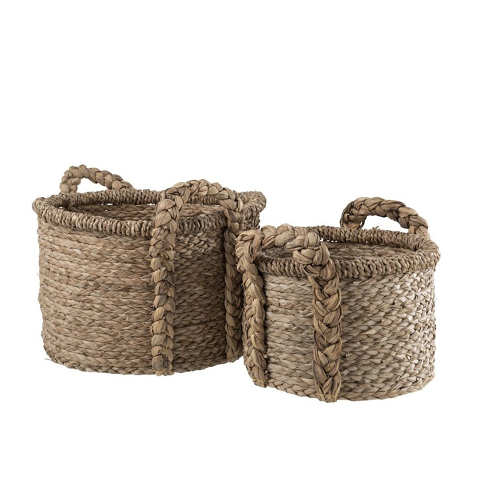 Set De 2 Paniers Jute Naturel
