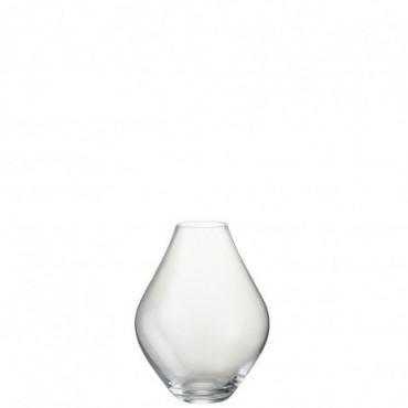 Vase Abby Verre Transparent L