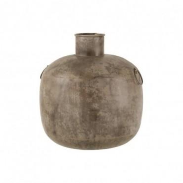 Vase Antique Rond Marron L
