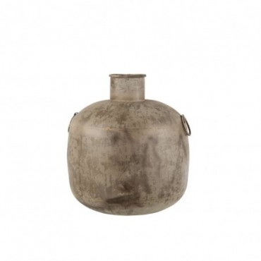 Vase Antique Rond Marron S