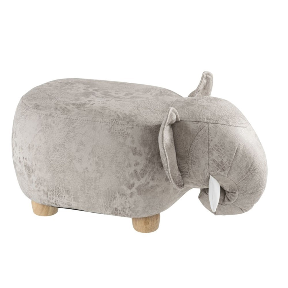 Elephant Chaise Pin Gris