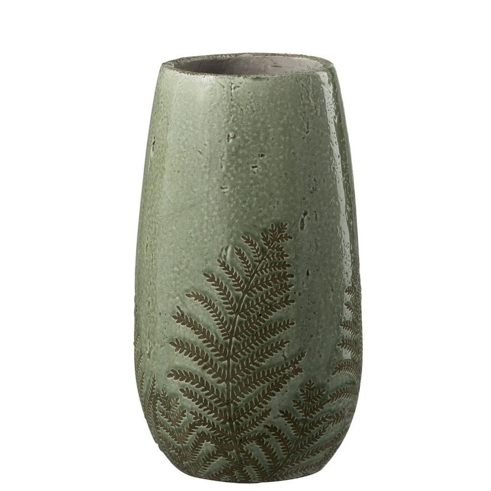 Vase Tropical Rond Vert