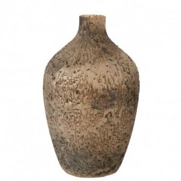 Vase Wyll Haut Rond Verre Mix