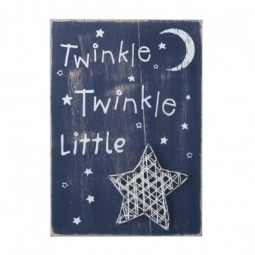 Tableau étoiles Twinkle Twinkle Little