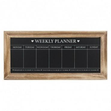 Tableau Planificateur hebdomadaire