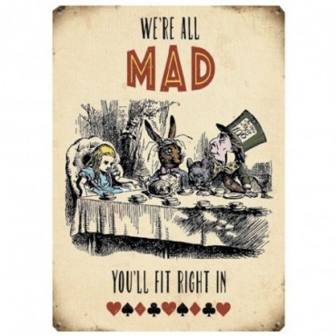 Tableau Alice We're all mad