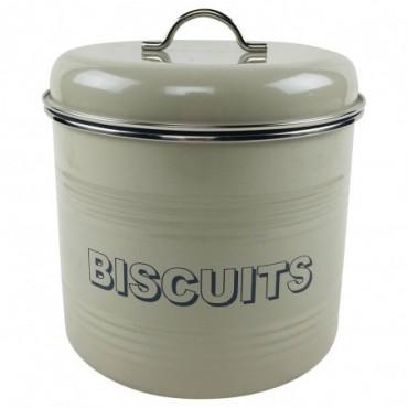 Boite en métal Biscuits