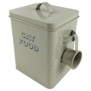 Boite en métal Cat Food