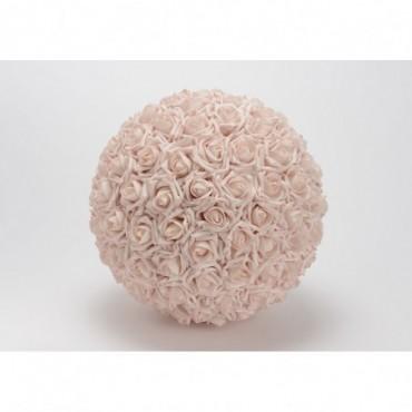 Boule Deco Rose Poudre D30