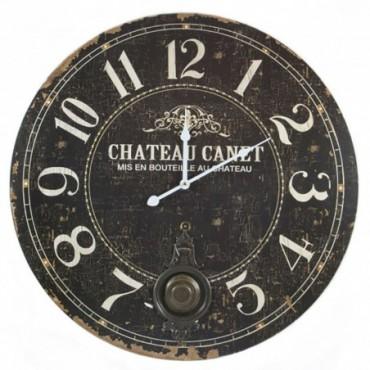 Horloge chateau Canet