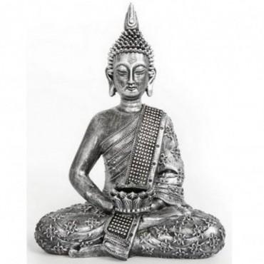 Statue Bouddha 34cm céramique
