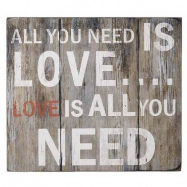 Tableau Déco All you need is love