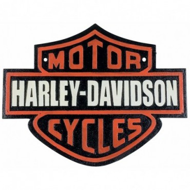 Plaque métal Harley Davidson