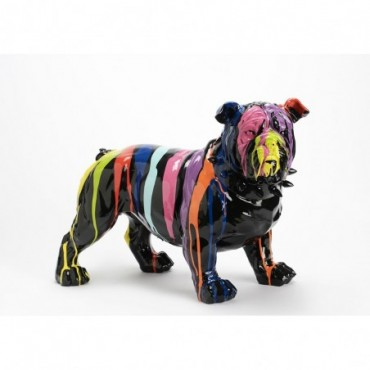 Bulldog Collier Debout H41 Tra