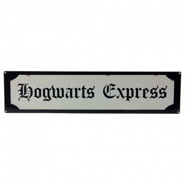 Pancarte Harry Potter Poudlard Express