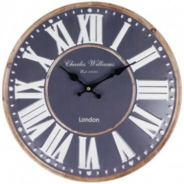 Horloge London Bleu 40cm