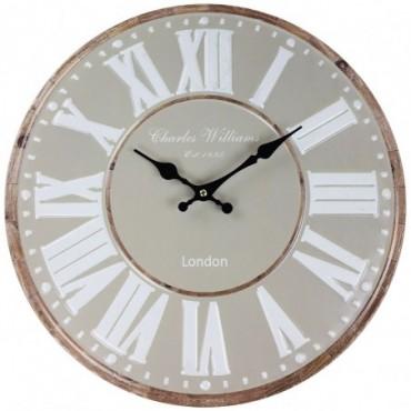 Horloge London Beige 40cm
