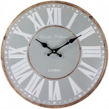 Horloge London gris 40cm