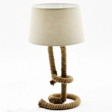 Lampe Corde Torsadée