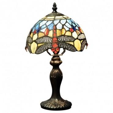 Lampe Tiffany Libellule Bleu