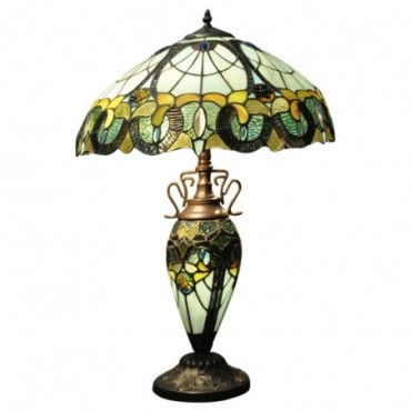 Lampe Double Tiffany Multi Color