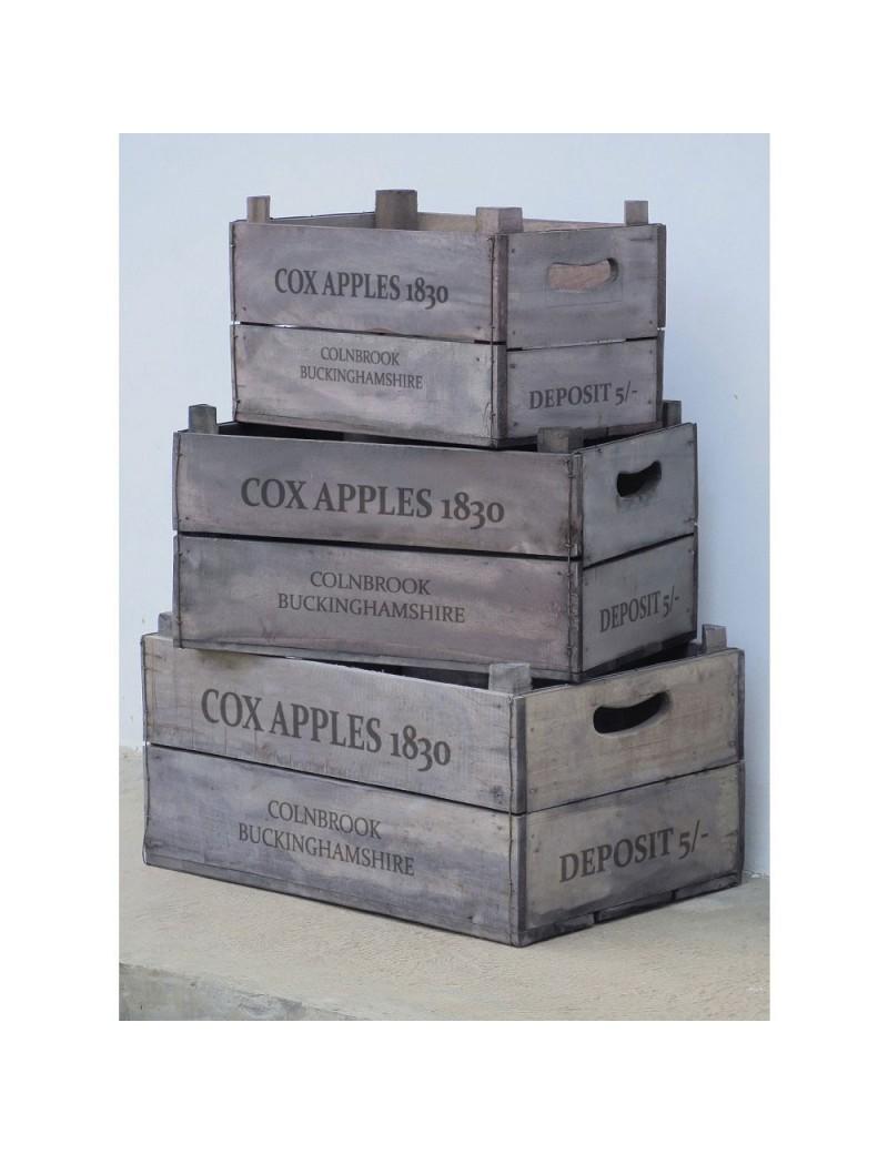 Prix Caisse A Pomme cagette de pomme en bois