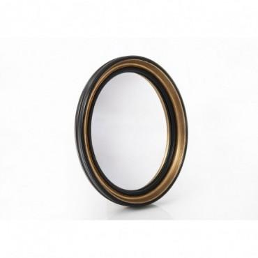 Miroir Sorcière Noir Ovale Grand modèle