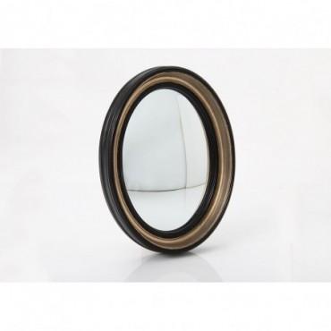 Miroir Sorcière Noir Ovale Modèle moyen