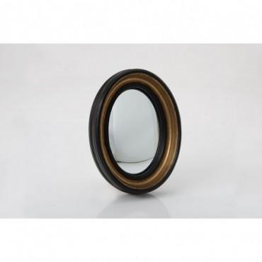 Miroir Sorcière Noir Ovale Petit modèle