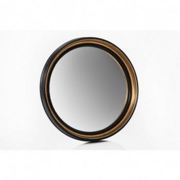 Miroir Sorcière Noir Rond Grand modèle