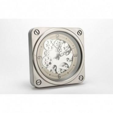Horloge Jules 37Cm Argent