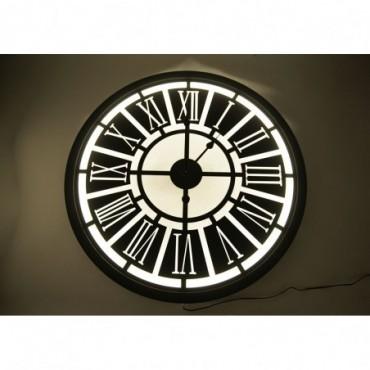 Horloge Industriel Retro-Eclairee - Led-