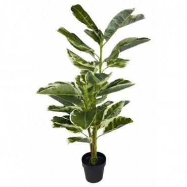 Ficus caoutchouc artificiel 110 cm