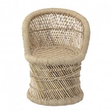 Chaise Longue Makoto Nature Bambou