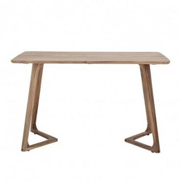 Table de salle à manger Luie marron acacia