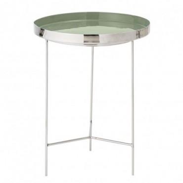 Table-plateau Sola vert aluminium