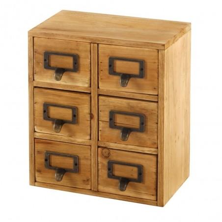 Organiseur 6 tiroirs Cabinet