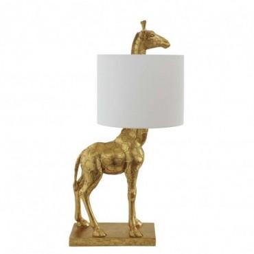 Lampe de table Silas or polyrésine