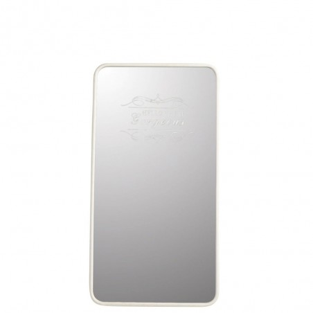 Miroir Gorgeous Metal Blanc